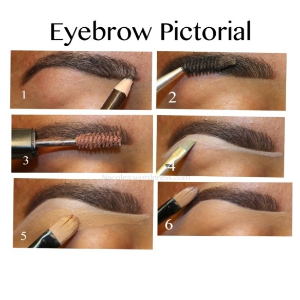 how to draw your eyebrows with pencil
