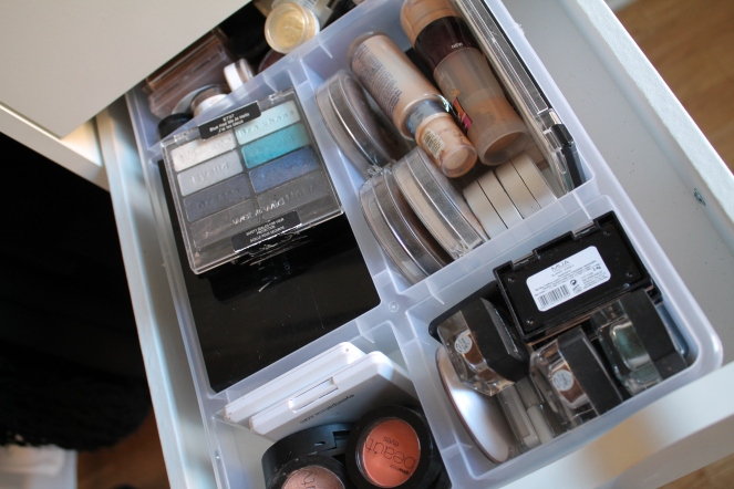 Single eyeshadows & palettes. More face powders and foundations