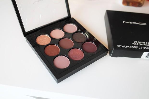 MAC Brugundy Times Nine 9 x Eyeshadow palette