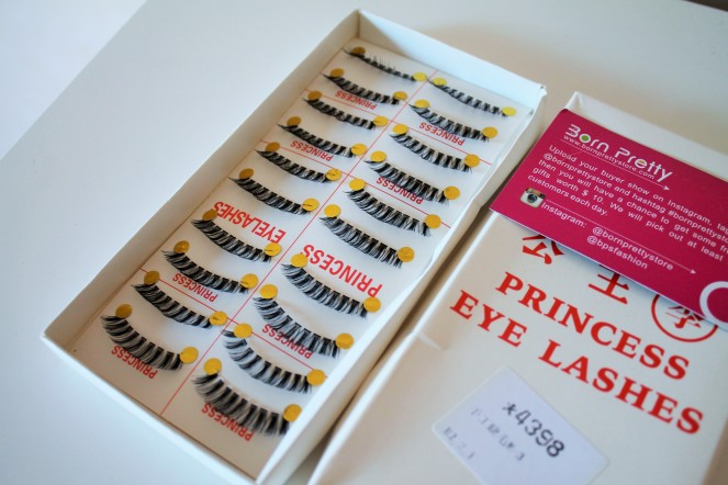10 x Handmade Artifical Thick False Eyelashes