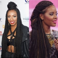 Hair | Box Braid Styling Inspiration